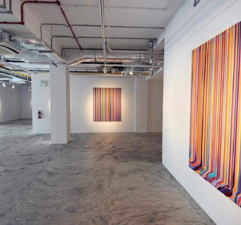 Ian Davenport: Between the Lines