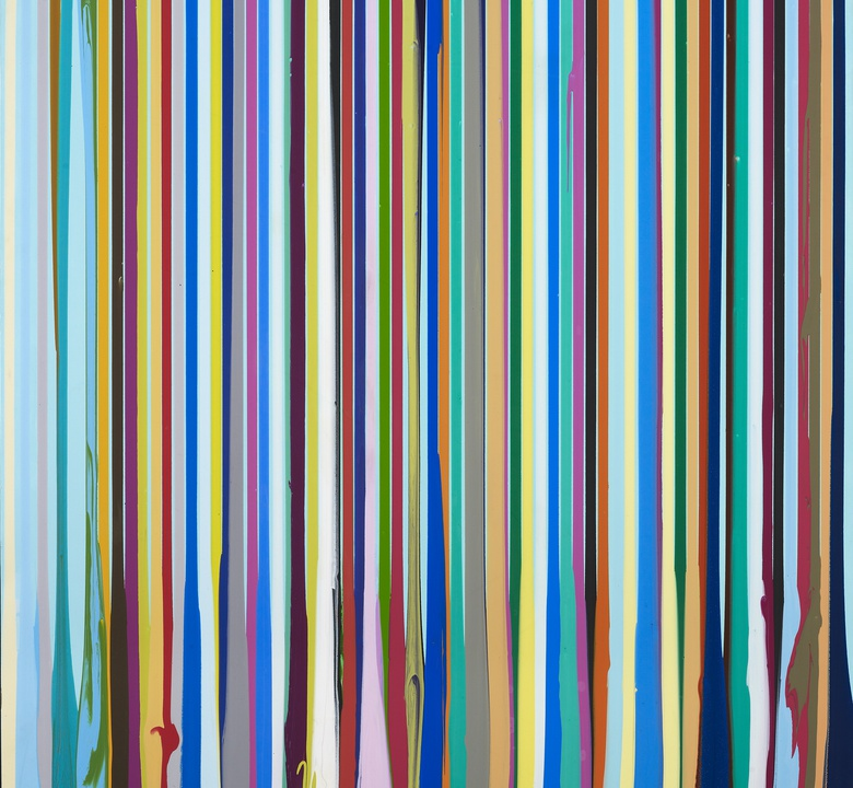 Between the Lines: A Q&A with artist Ian Davenport